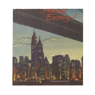 New York Always Exciting Notepad