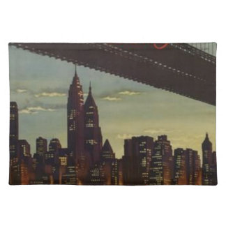 New York Always Exciting Placemat