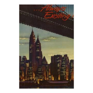 New York Always Exciting Stationery