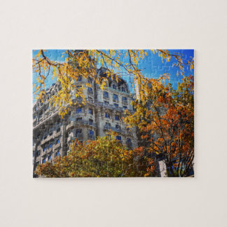 New York Architecture Broadway Upper West Side NYC Jigsaw Puzzle