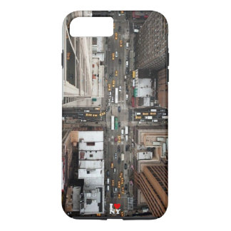 (New York arial view) iPhone 8 Plus/7 Plus Case