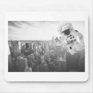 new york astronaut bw mouse pad