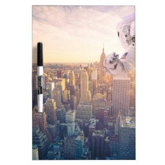 new york astronaut Dry-Erase whiteboards