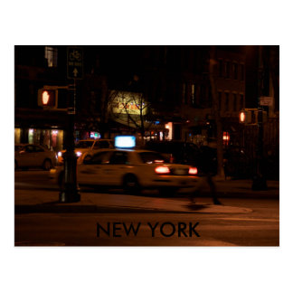 NEW YORK at night Postcard