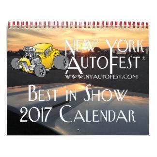 New York AutoFest 2017 Best in Show Calendar