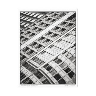 New York Ave Buildings- Washington, DC Canvas Print