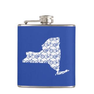 New York Bike Flask