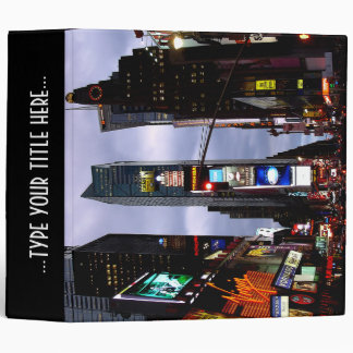 New York Binder Cool NYC Times Square Book Binder