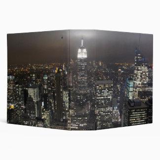 New York Binder Skyline Cityscape at Night