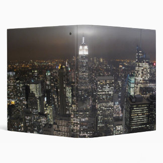 New York Binder Skyline Cityscape NYC Souvenir