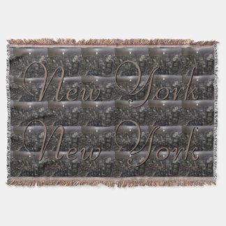 New York Blanket NYC Empire State Souvenir Blanket