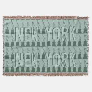 New York Blanket NYC Statue of Liberty Blanket Throw
