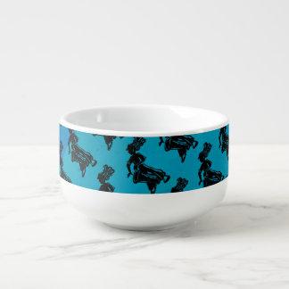New York Boogie Nights Drum Blue Soup Mug