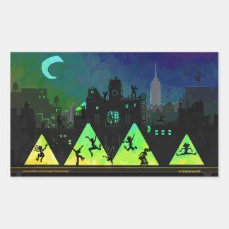 New York Boogie Nights Sticker