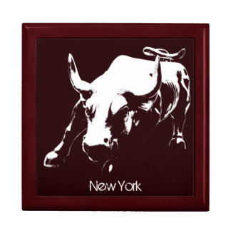 New York Boxes New York Bull Souvenir NY Giftbox Jewelry Box