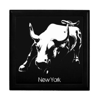 New York Boxes New York Bull Souvenir NY Giftbox Jewelry Boxes