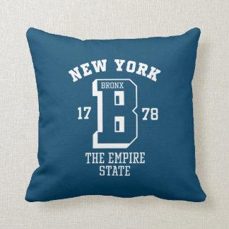 New York Bronx Throw Pillow