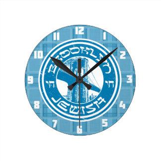 New York Brooklyn Jewish Clock