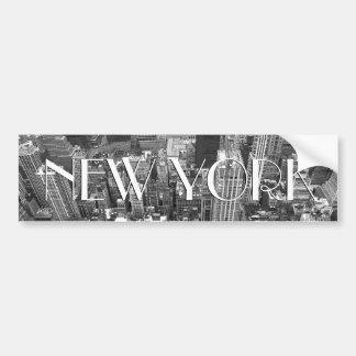 New York Bumper Sticker New York City Stickers