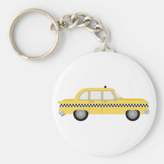 New York Cab Keychain