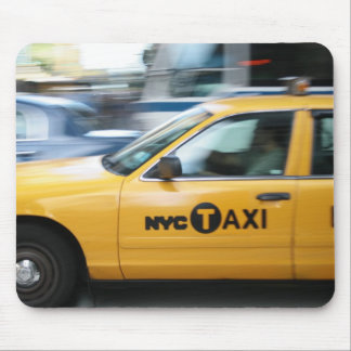 New York Cab Mouse Pad