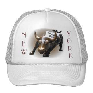 New York Caps Hats New York Souvenir Bull Gifts