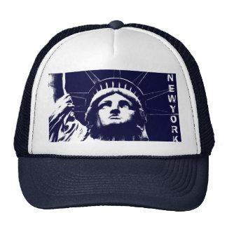 New York Caps Navy New York Souvenir Liberty Gifts Trucker Hat