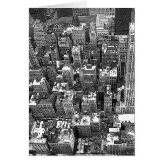 New York Card Cityscape New York Souvenir Card