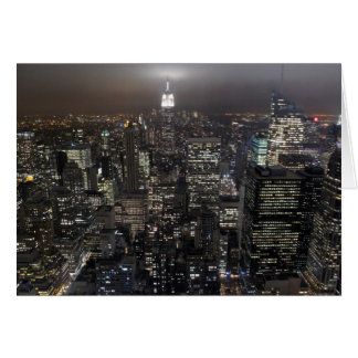 New York Card Cityscape New York Souvenir Card