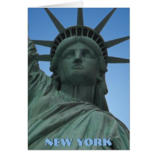 New York Card New York Souvenir Statue of Liberty