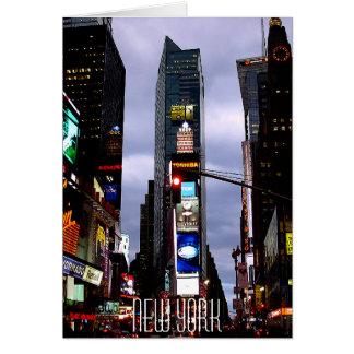 New York Card Times Square New York Souvenir Card