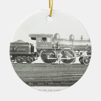 New York Central and Hudson River Ceramic Ornament