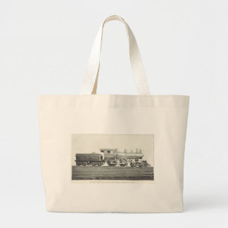 New York Central and Hudson River Large Tote Bag
