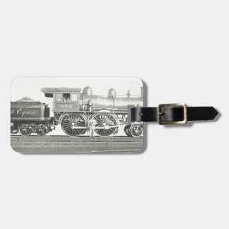 New York Central and Hudson River Luggage Tag