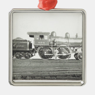 New York Central and Hudson River Metal Ornament