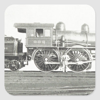 New York Central and Hudson River Square Sticker