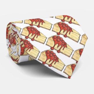 New York Cheesecake NYC Cherry Cheese Cake Tie