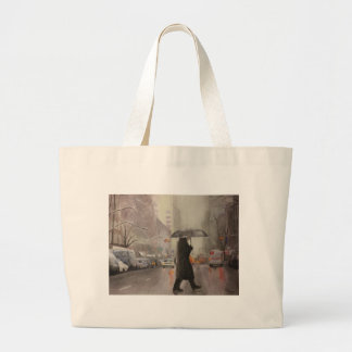 New York Chill Large Tote Bag