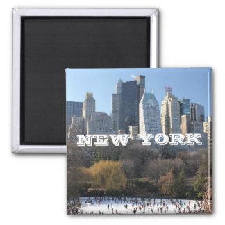 NEW YORK CHRISTMAS MAGNET