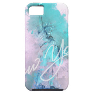 New York CIITY - RULE LIBERTY OFF iPhone 5 Covers