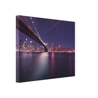 New york cities Canvas