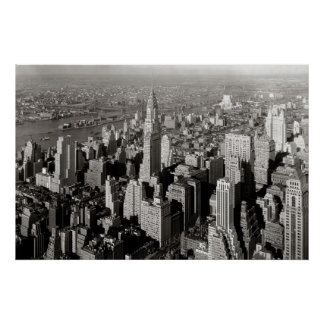 New York City: 1932 Poster