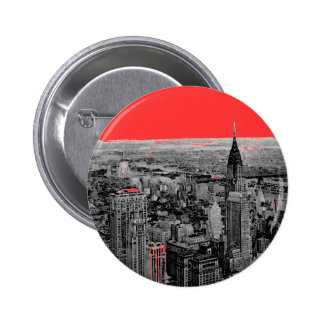 New York City 2 Inch Round Button