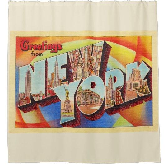 New York City #2 NY Large Letter Travel Postcard -