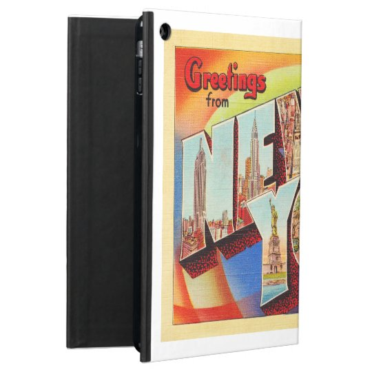 New York City #2 NY Large Letter Travel Postcard - Cover For iPad Air