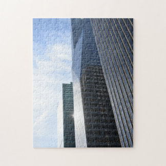 New York City 6th Avenue Skyscrapers NYC Buildings Jigsaw Puzzle