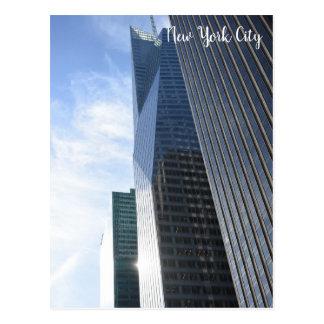 New York City 6th Avenue Skyscrapers NYC Buildings Postcard