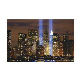 """New York City"" 911 Tribute with Lights Wall Art"