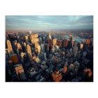 New York City Aerial View Chrysler Building Spire Postcard