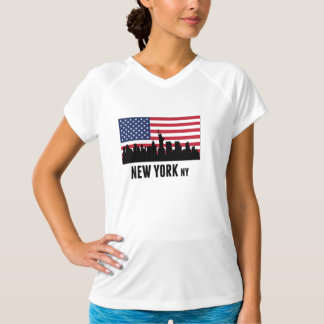 New York City American Flag T-Shirt